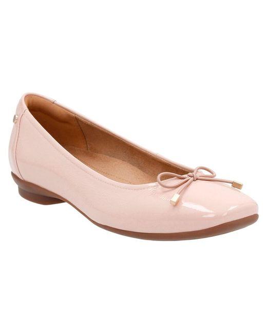 Clarks | Pink Women's Candra Light Flats | Lyst