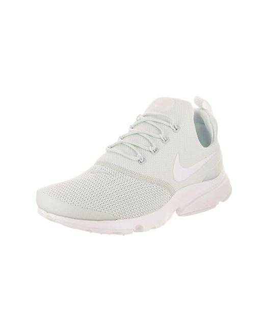 208e2190821 Nike - Gray Women s Presto Fly Running Shoe - Lyst ...