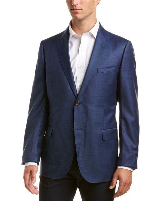 4c29312c2c9c Gucci - Blue Wool Sportscoat for Men - Lyst ...