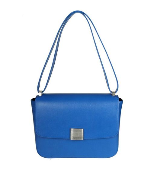 Golden Goose Deluxe Brand - Women's Blue Leather Shoulder Bag - Lyst