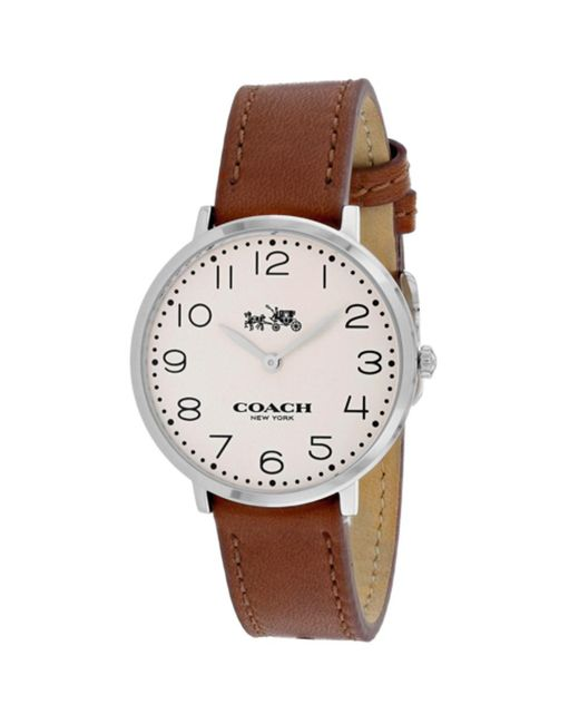 COACH - Metallic Women's Slim Easton (14502682) Watch - Lyst