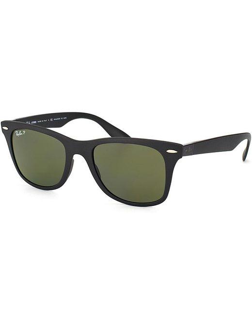 Ray-Ban - Black Liteforce Wayfarer Plastic Sunglasses - Lyst