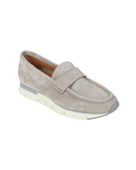 best place sale online Santoni Men's Beige Suede Loafers where can i order official online discount wide range of clearance online cheap real 70GQp8k
