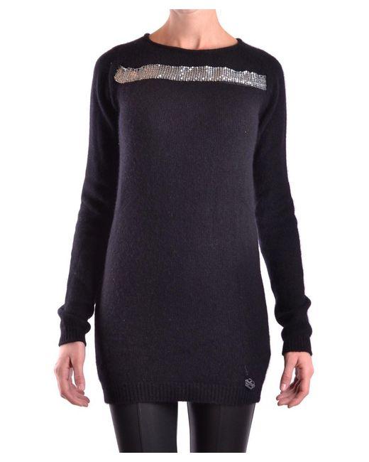 Balmain | Women's Black Wool Sweater | Lyst