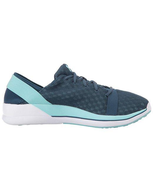 new product 50a76 0b69f under-armour-Blue-Womens-Rotation-Low-Top-Lace-Up-Running-Sneaker.jpeg