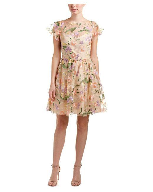 Shoshanna - Natural A-line Dress - Lyst