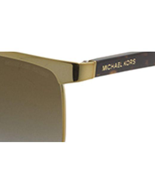 2b8d87a1ca823 ... Michael Kors - Metallic Mk1018 August Women Sunglasses - Lyst ...