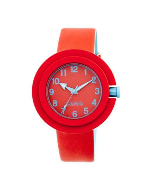 Crayo - Red Men's Equinox Quartz Watch for Men - Lyst