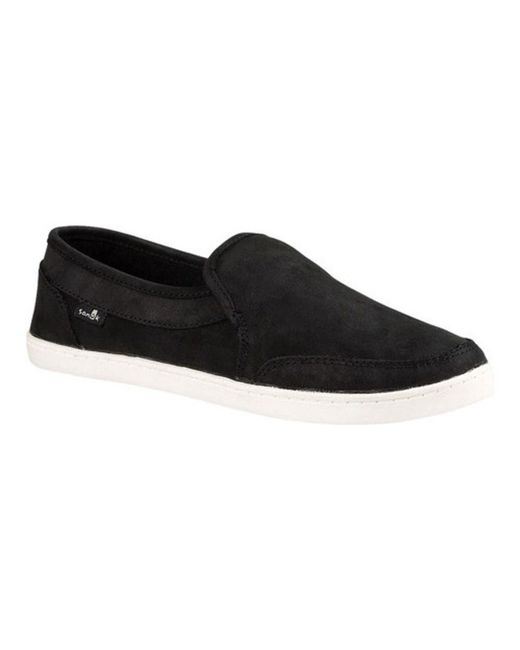 Sanuk - Black Women's Pair O Dice Sneaker - Lyst