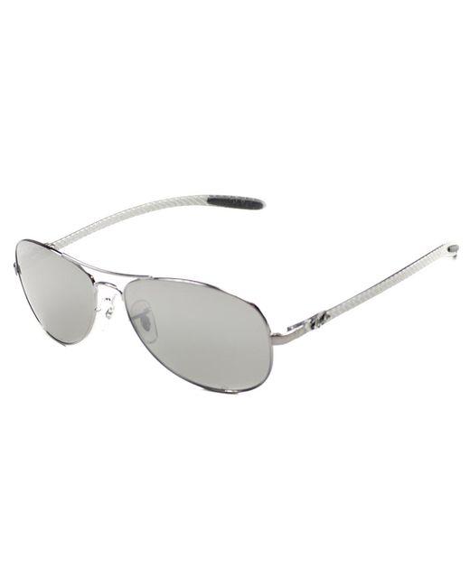 Ray-Ban - Metallic Carbon Fiber Cockpit Aviator Metal Sunglasses - Lyst