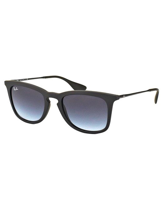Ray-Ban - Black Square Plastic Sunglasses - Lyst