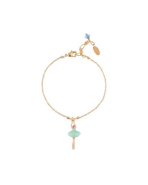 Les Nereides - Mini Pas De Deux With Blue Ballerina Bracelet - Lyst