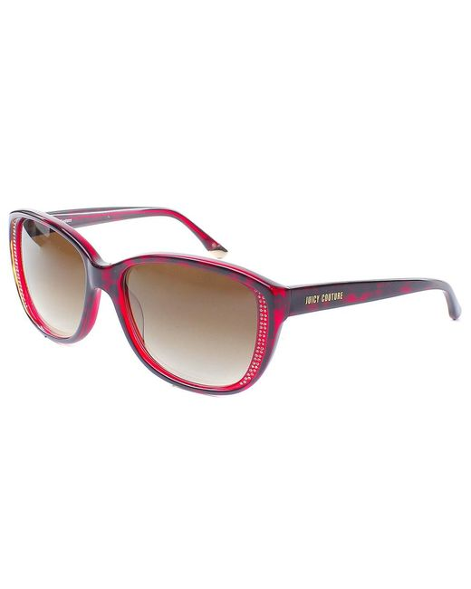 Juicy Couture - Pink Cat-eye Plastic Sunglasses - Lyst