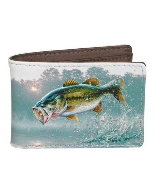 Buxton - Blue Men's Wildlife Front Pocket Bifold Wallet for Men - Lyst