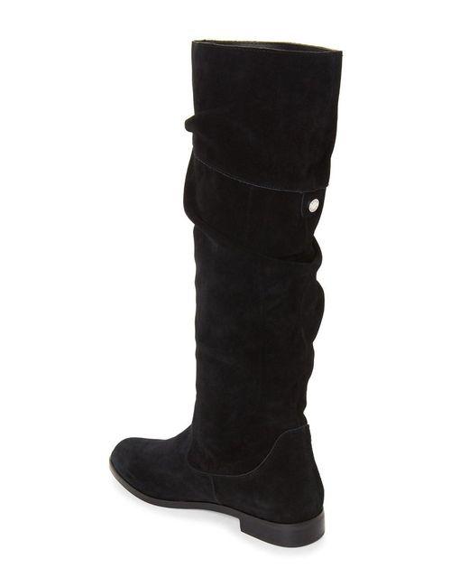 Steve Madden - Black Womens Balen Suede Almond Toe Knee High Fashion Boots - Lyst