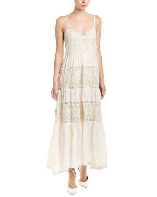 Love Sam - White Aurora Maxi Dress - Lyst
