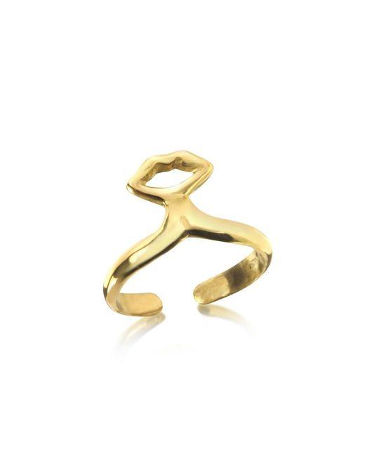 Bernard Delettrez - Metallic Women's Silver Metal Ring - Lyst