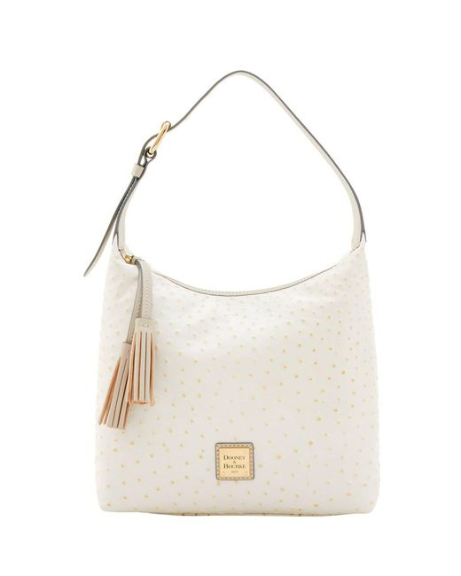 Dooney & Bourke | Multicolor Ostrich Paige Sac Shoulder Bag | Lyst
