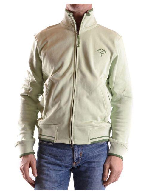 Dekker | Men's Green Cotton Sweatshirt for Men | Lyst