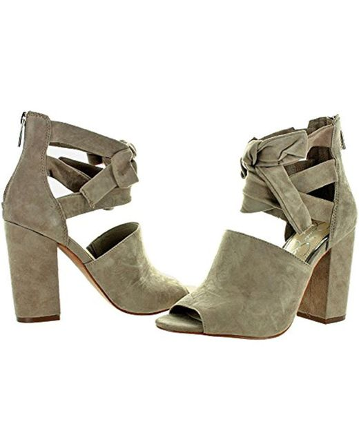 9d68cb56fca ... Jessica Simpson - Multicolor Womens Kandiss Suede Block Peep-toe Heels  - Lyst ...