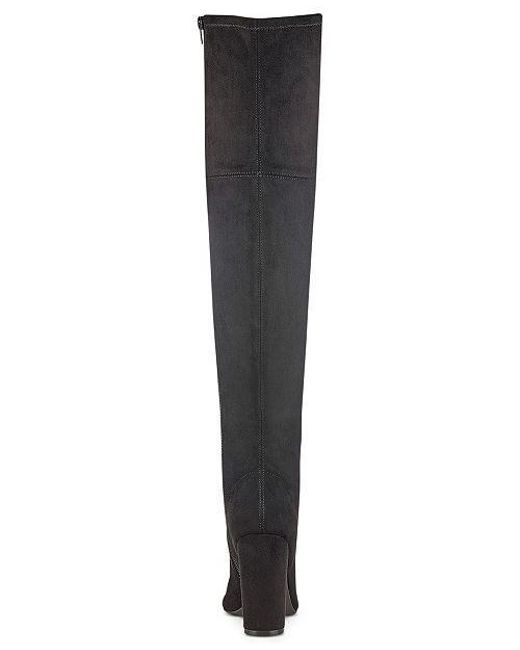 4a8c7b8a5a6 ... Guess - Black Womens Casidi Open Toe Over Knee Fashion Boots - Lyst ...