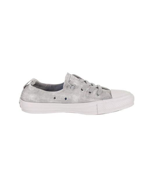bca800a43d3f ... Lyst Converse - Gray Women s Chuck Taylor All Star Shoreline Slip-on  Casual Shoe ...