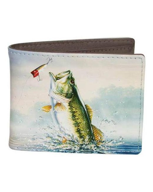 Buxton - Multicolor Men's Wildlife Slim Bifold Wallet for Men - Lyst