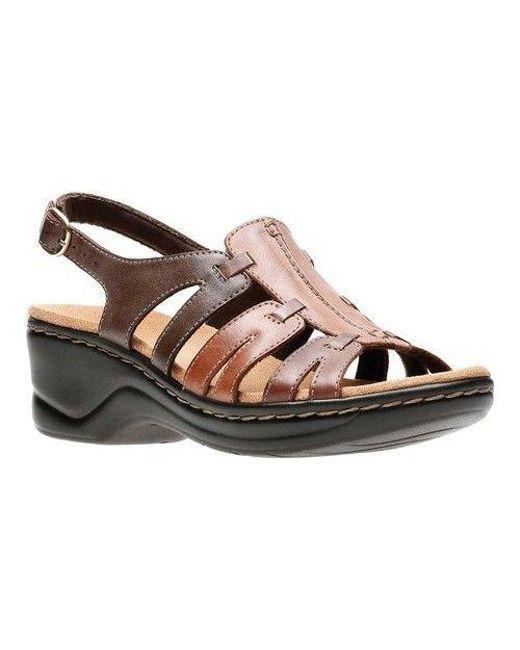2ec61285e8f72f Lyst - Clarks Women s Lexi Marigold Sandal in Brown