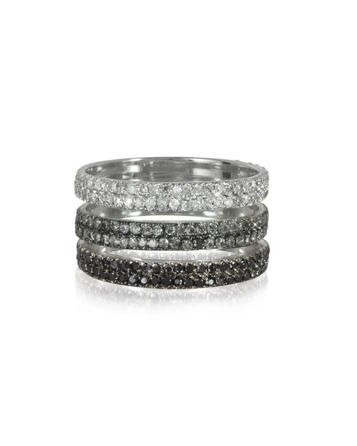 Bernard Delettrez - Metallic Women's Silver Gold Ring - Lyst