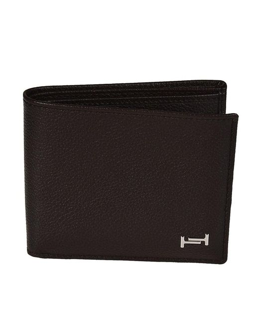 Tod's - Men's Brown Leather Wallet for Men - Lyst