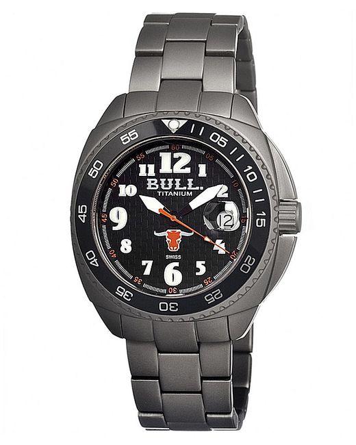 Bull Titanium - Black Matador Swiss Bracelet Watch - Lyst