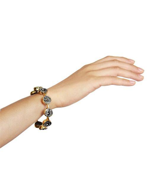 Saachi - Gray Marquis Gold Bracelet - Lyst