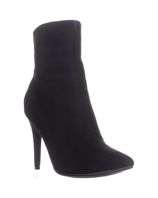 Chinese Laundry - Sparrow High Top Booties, Black - Lyst