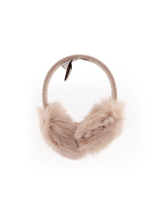 Ugg - Brown Women's Beige Fabric Headband - Lyst
