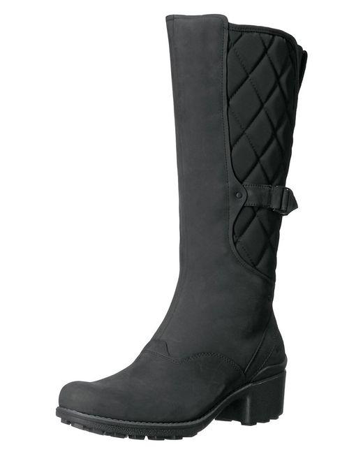 Merrell - Black Women's Chateau Tall Pull Waterproof Snow Boot - Lyst