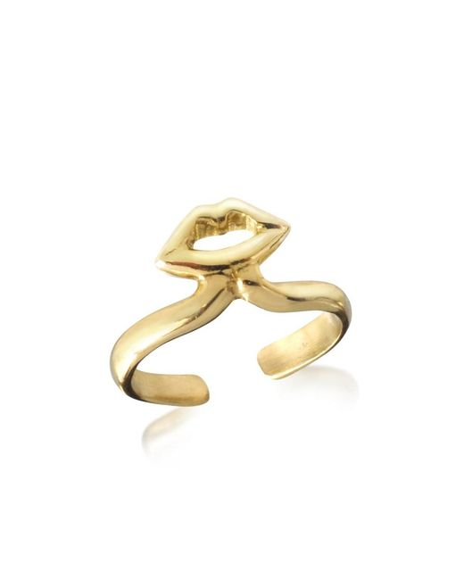 Bernard Delettrez - Metallic Women's Gold Metal Ring - Lyst
