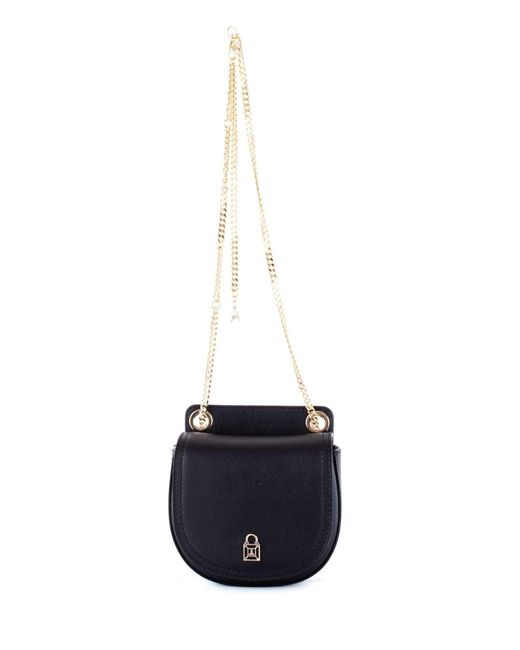 Patrizia Pepe - Women's Black Leather Shoulder Bag - Lyst