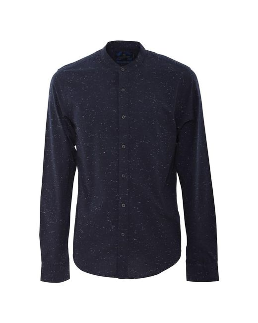 Scotch & Soda | Men's Blue Cotton Shirt for Men | Lyst