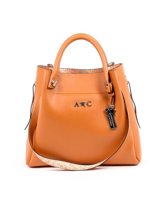 Andrew Charles by Andy Hilfiger | Andrew Charles Womens Handbag Orange Marissa | Lyst