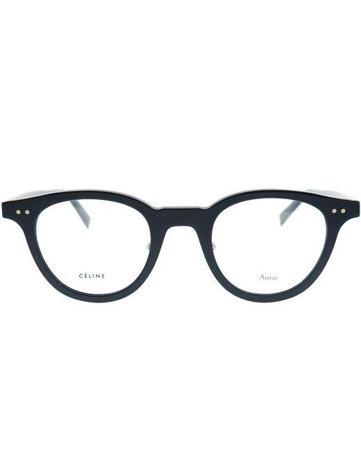 bc8c24260e382 ... Céline - Cl 41460 Pjp Blue Round Eyeglasses - Lyst ...