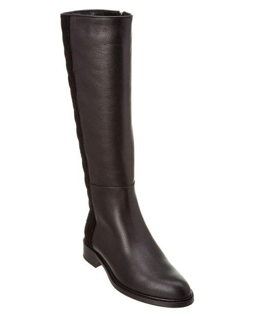 Aquatalia - Black Giovanna Waterproof Leather & Suede Boot - Lyst