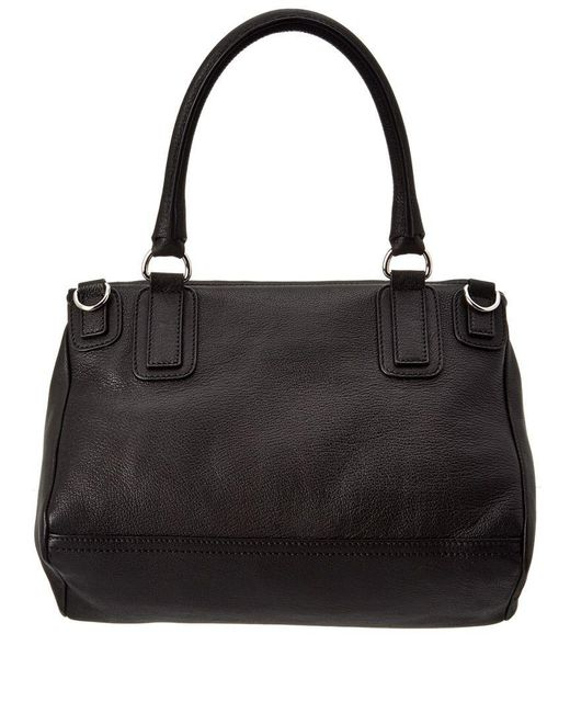 ... Givenchy - Black Medium Pandora Leather Shoulder Bag - Lyst ... 52d3ddd3308ea