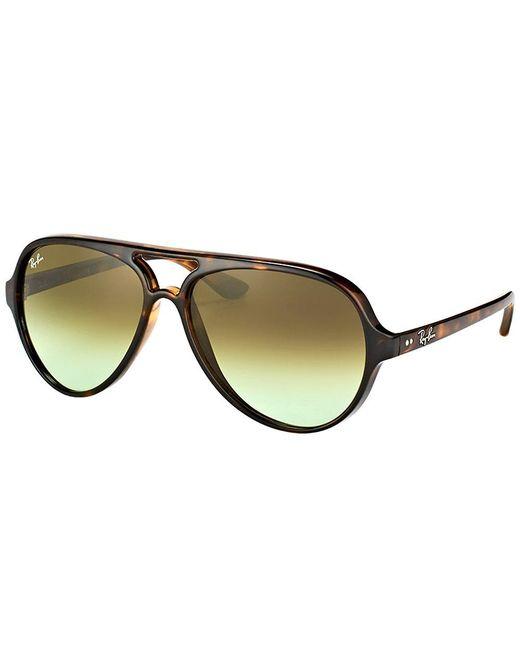 Ray-Ban - Multicolor Cats 5000 Rb 4125 710/a6 Havana Aviator Sunglasses - Lyst