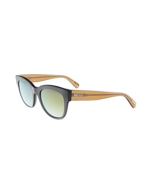 Just Cavalli - Jc759s 5220g Brown Round Sunglasses - Lyst