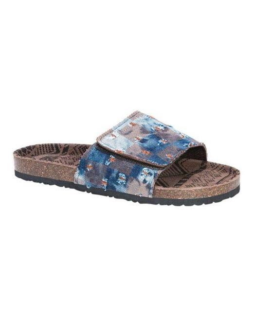 Muk Luks - Blue Men's Jackson Slide Sandal for Men - Lyst