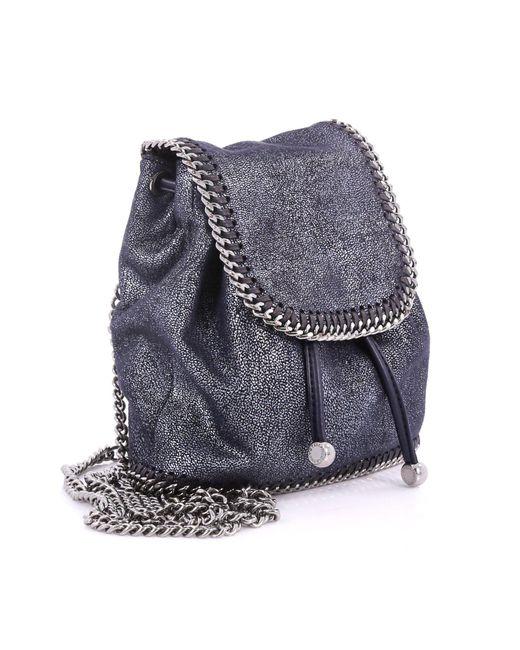 c55f76e4c508 ... Stella McCartney - Multicolor Pre Owned Falabella Backpack Shaggy Deer  Mini - Lyst ...