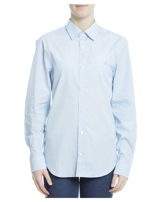 Burberry   Men's 3991160 Light Blue Cotton Shirt for Men   Lyst