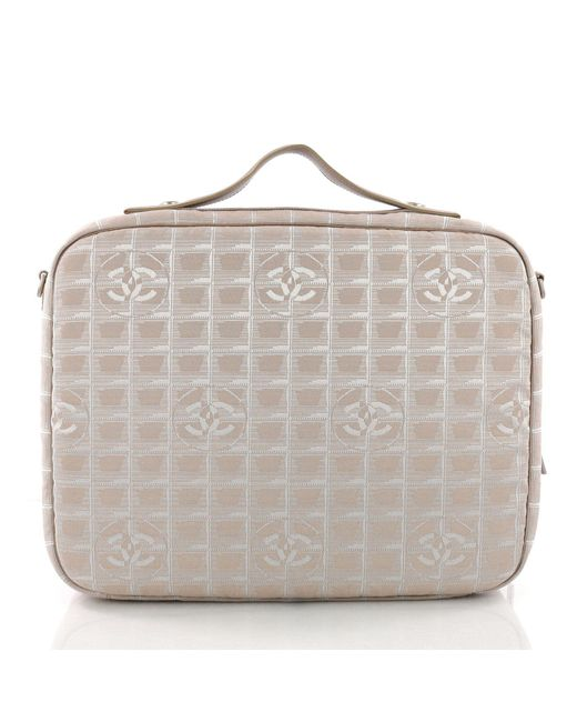 baba7d0140c0 ... Chanel - Multicolor Pre Owned Travel Line Briefcase Nylon - Lyst ...