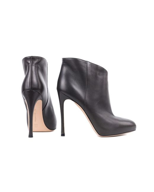 buy cheap extremely Gianvito Rossi Grey Leather High... affordable online ndfnN3tX4