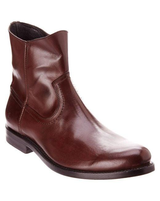 Frye - Brown Men's Jet Leather Boot for Men - Lyst